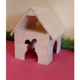Haus mit Spitzdach 1